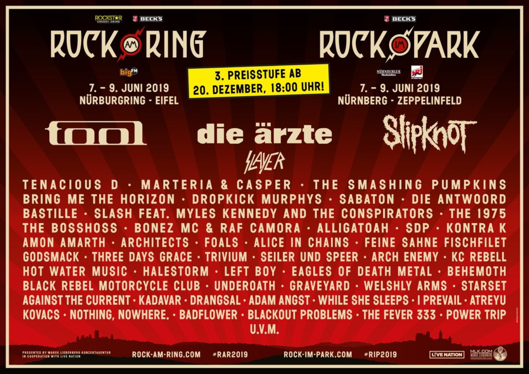 Rock am Ring 2019 Tickets