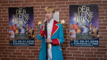 Der kleine Prinz: Moritz Bierbaum besuchte die Kita St. Monika in Trier