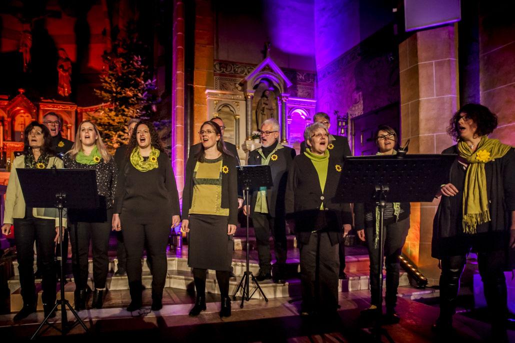 AUFTAKT a cappella – mit Chorschatten und Cäcilias Töchtern in Reinsfeld