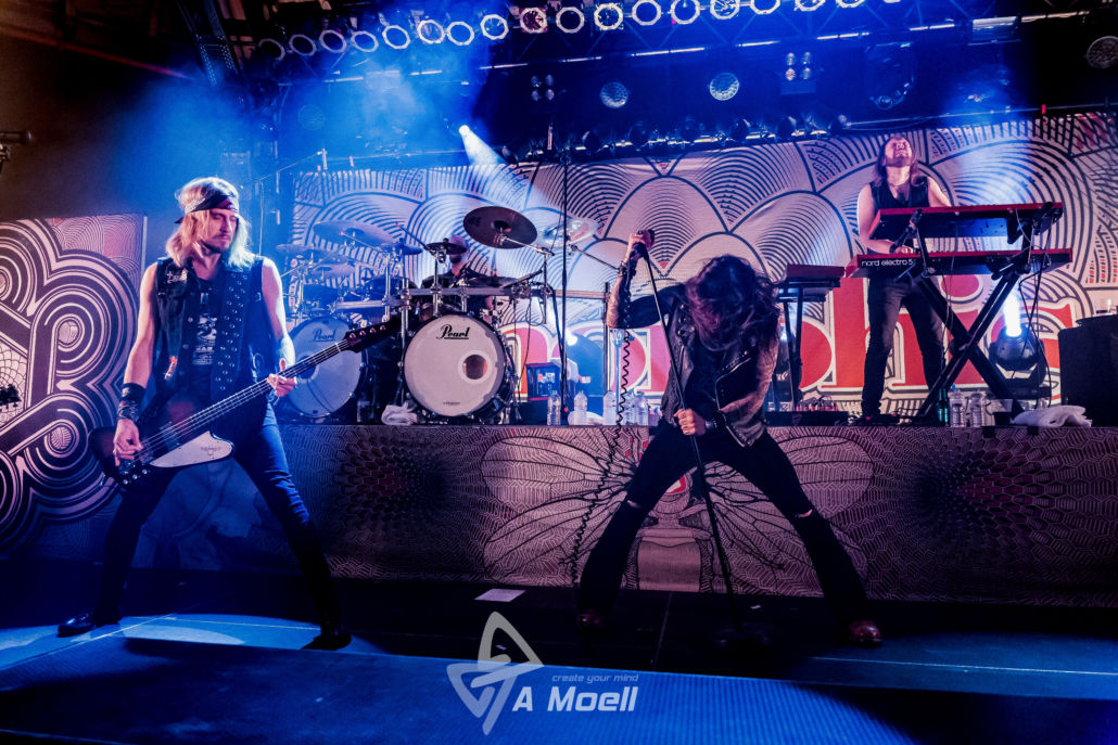 Amorphis – 14.2.2019 in Saarbrücken – Konzertfotos