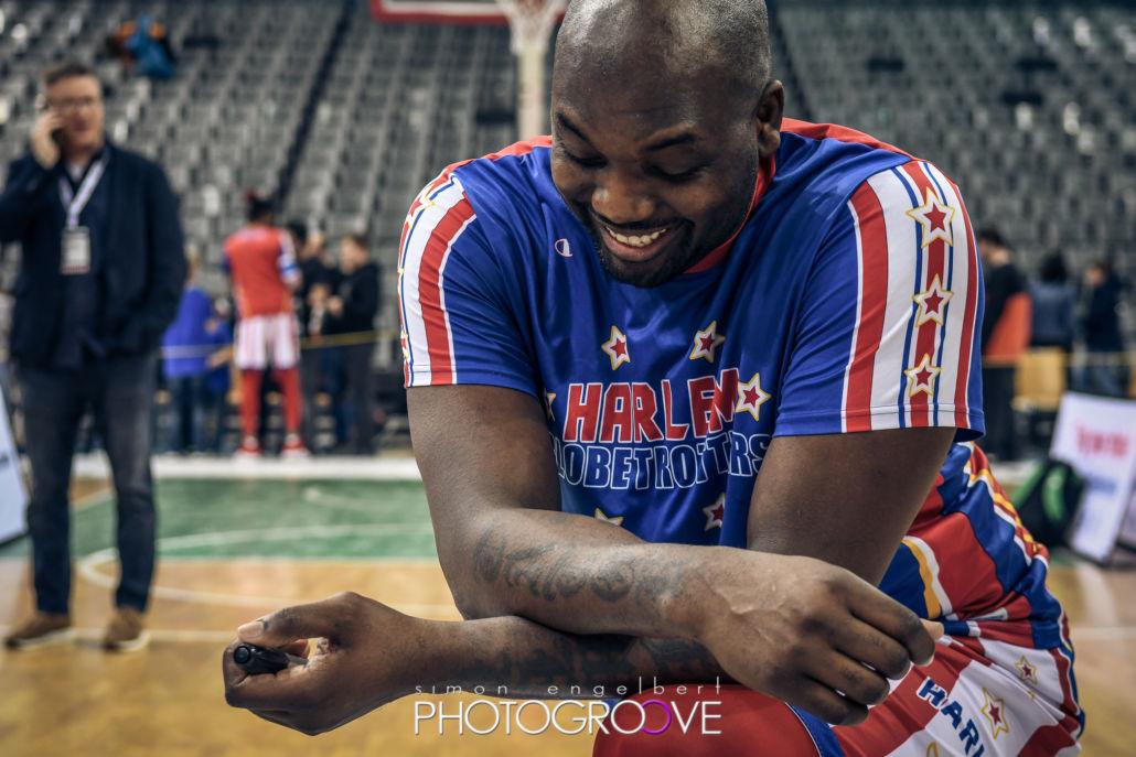 Eine beeindruckende Teamgeschichte: The Harlem Globetrotters in Trier 2019