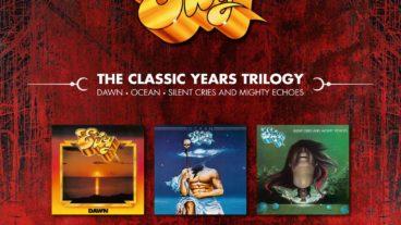 """Von Eloy erscheint die neue 3LPs + 3CDs-Box """"The Classic Years Trilogy"""""""