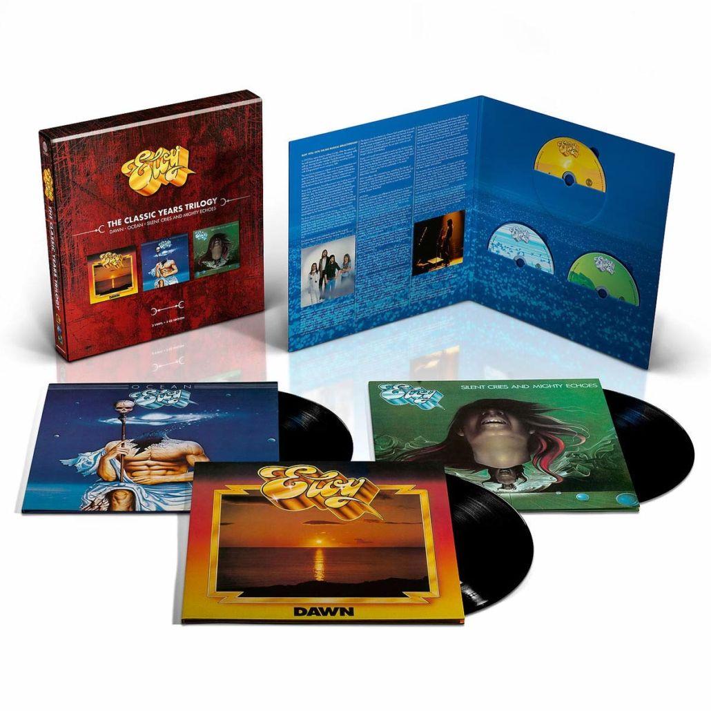 """ELOY: """"The Classic Years"""" – die Vinylbox für Freunde des gepflegten Prog"""