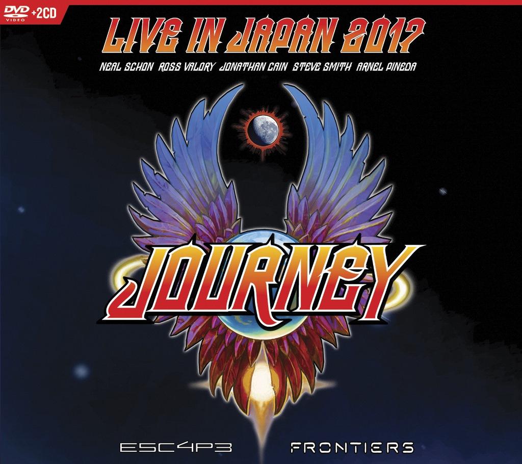 """Journey veröffentlichen neuen Konzertfilm """"Live In Japan 2017"""