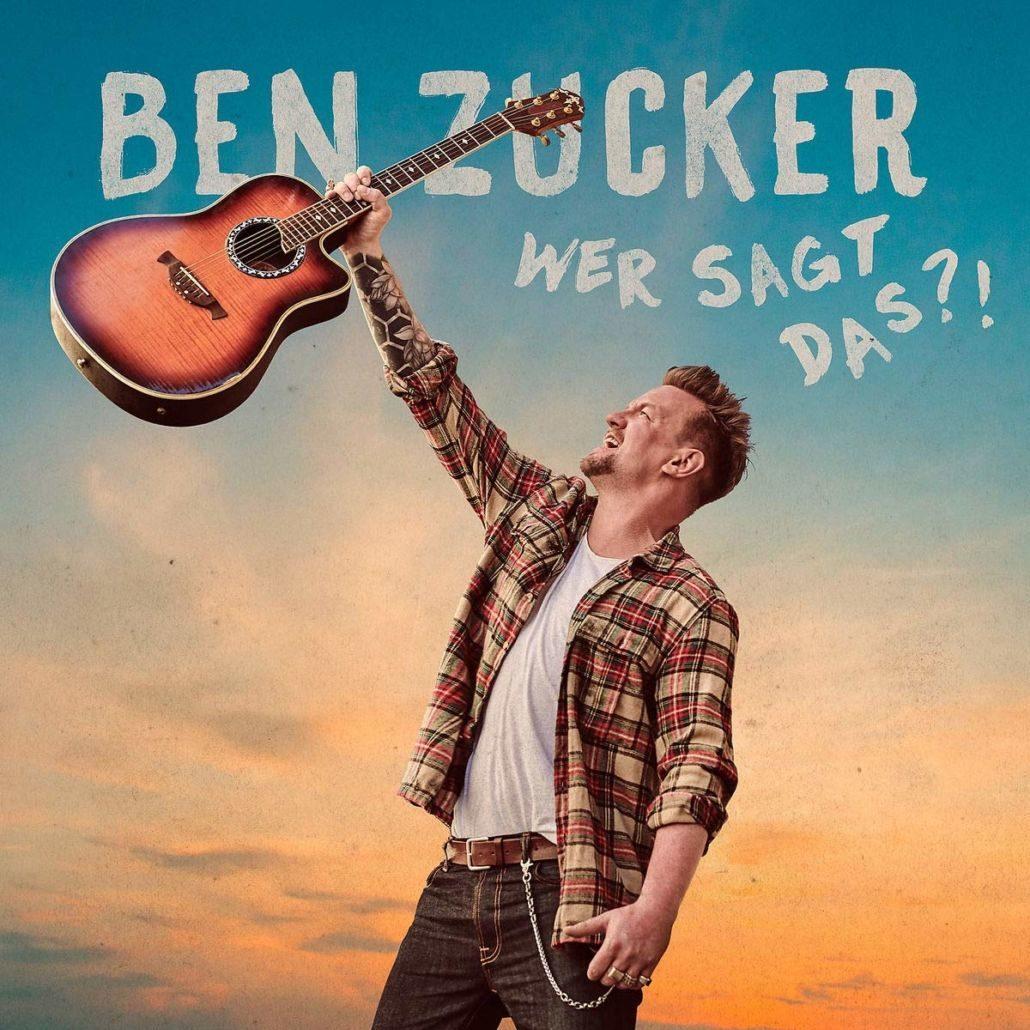 """Ben Zucker – neues Album """"Wer sagt das?!"""" erscheint am 07.06.19"""
