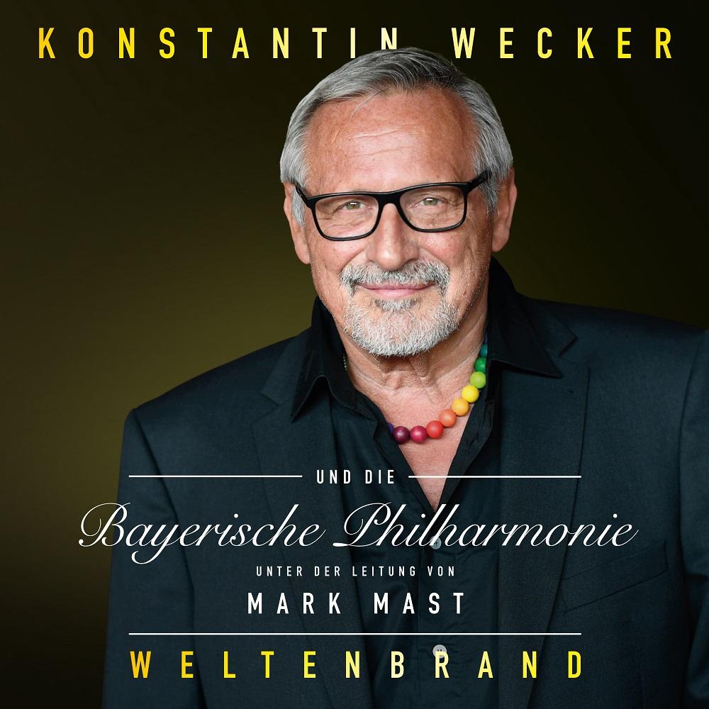"""Konstantin Wecker zelebriert den orchestralen """"Weltenbrand"""""""