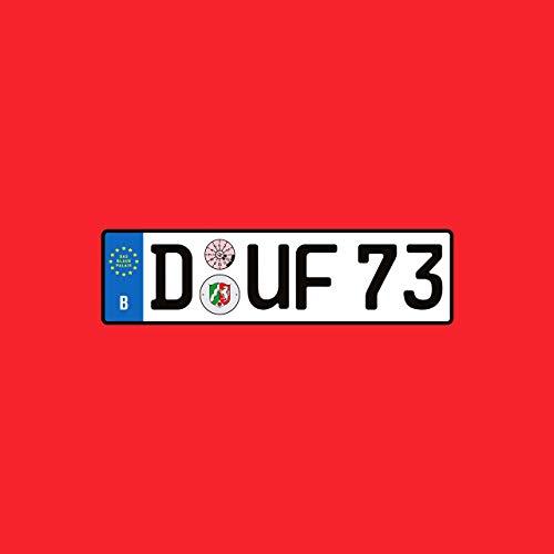 """Das Blaue Palais: """"D-UF 73"""" (Dufte)"""