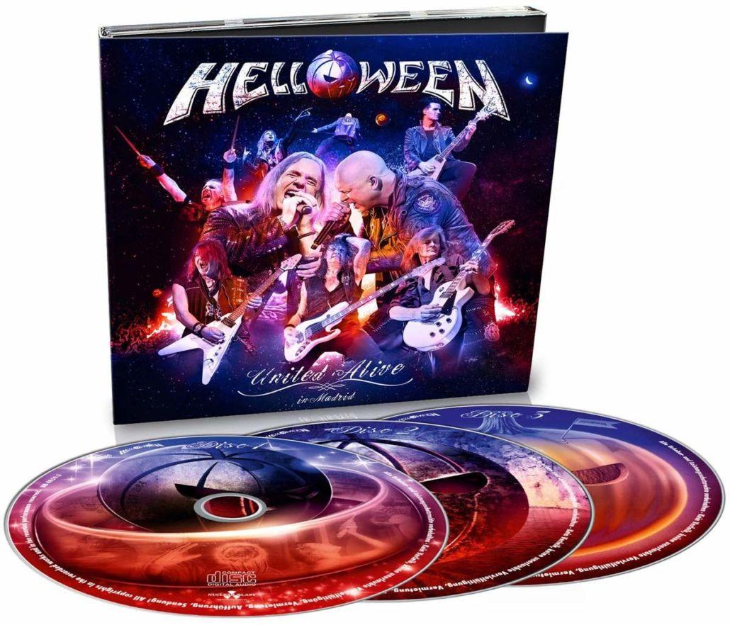 Helloween: United Alive In Madrid – das ultimative Besteck mit 3 Shoutern