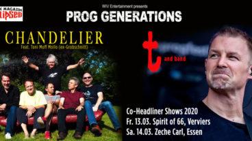PROG GENERATIONS: CHANDELIER / t live 2020!