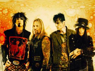 Mötley Crüe Bandfoto, Nikki, Vince, Tommy, Mick - Paul Brown