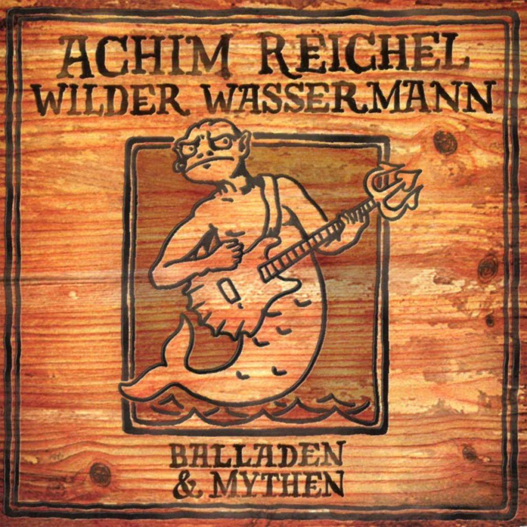 """Achim Reichel: """"Blues in blond"""" und """"Wilder Wassermann"""" Vinyl-Release 2019"""