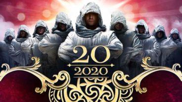 GREGORIAN waren zum 20-jährigen Jubiläum in der Arena Trier – 31.1.2020
