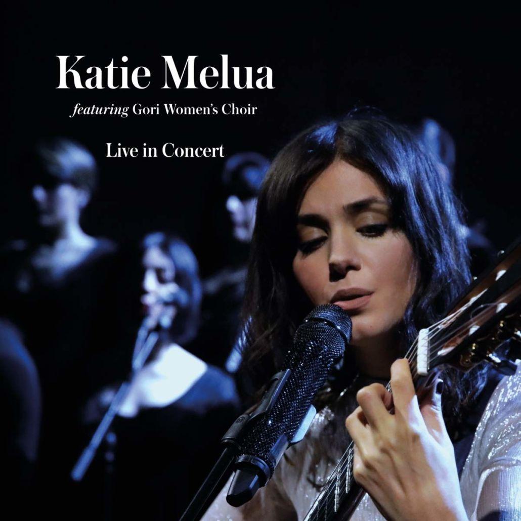 "Katie Melua: 2CD-Kollektion ""Live In Concert"" mit 84seitigem Hardcoverbuch"