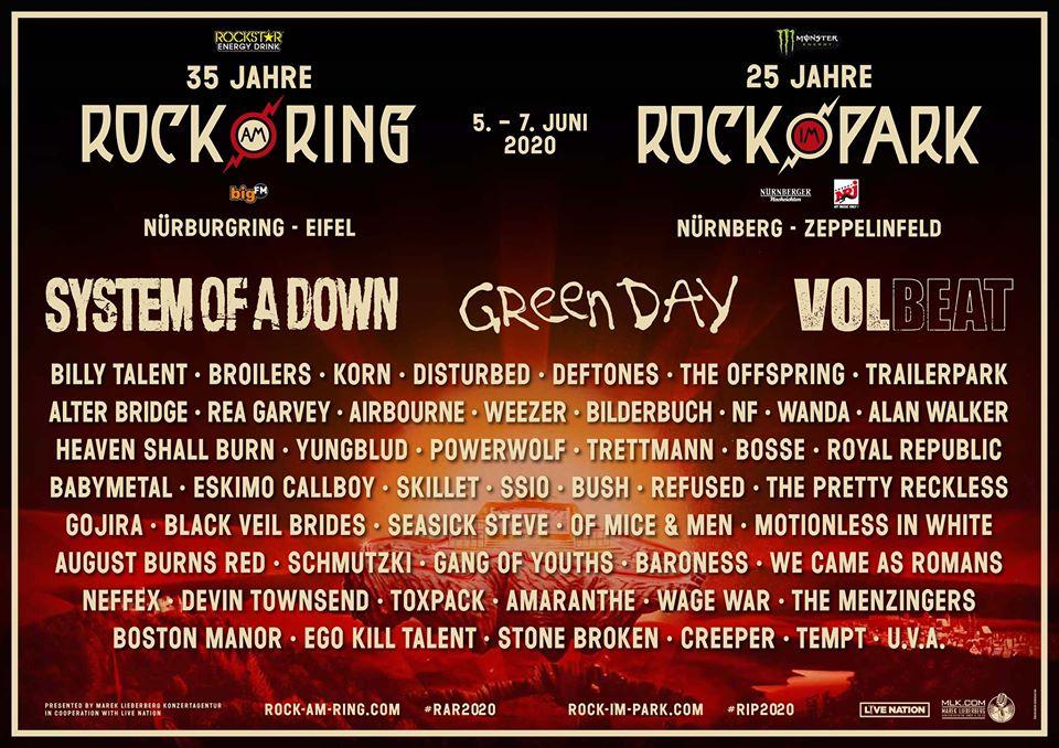 Rock am Ring – Zweite Bandwelle – Weitere 30 Acts jetzt bestätigt