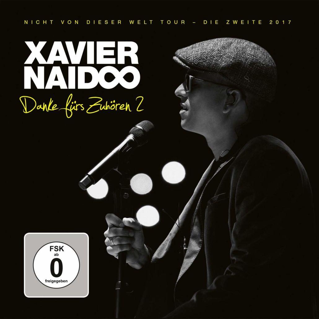 """Xavier Naidoo – Livekonzert aus 2017 """"Nicht von dieser Welt"""" Tour"""