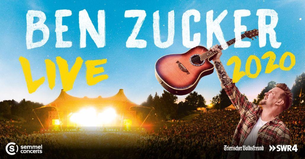 Ben Zucker, neuer Termin: 23.07.2021, Amphitheater Trier
