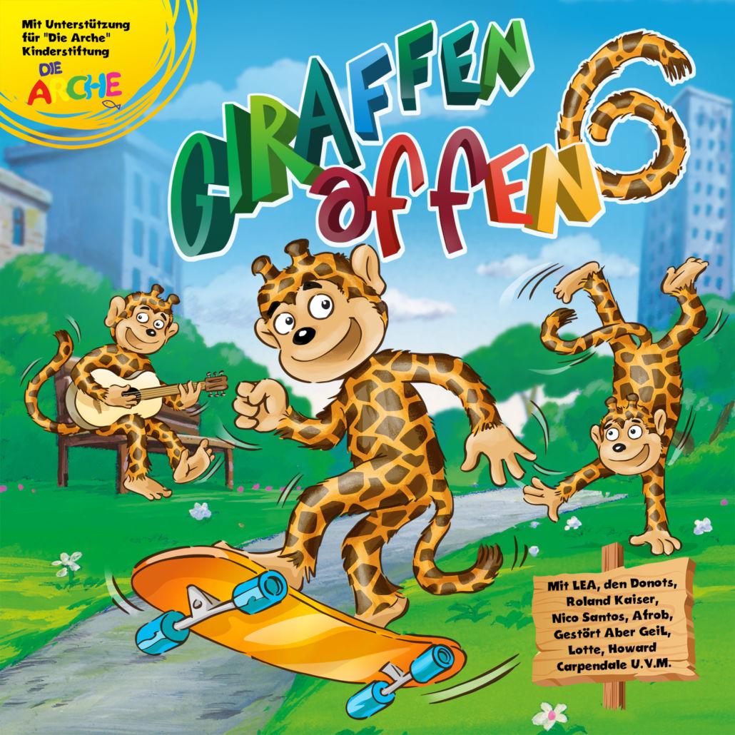 Giraffenaffen: In der sechsten Runde und alles andere als K.O.