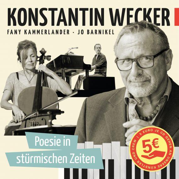 Konstantin Wecker liefert