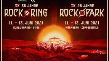ROCK AM RING / ROCK IM PARK: Neue Edition auf 11.-13. Juni 2021 terminiert