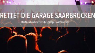 Crowdfunding zum Erhalt der Garage Saarbrücken