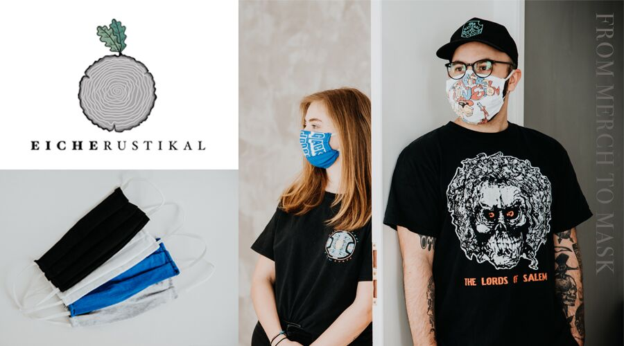 Upcycling Projekt: From Merch To Mask
