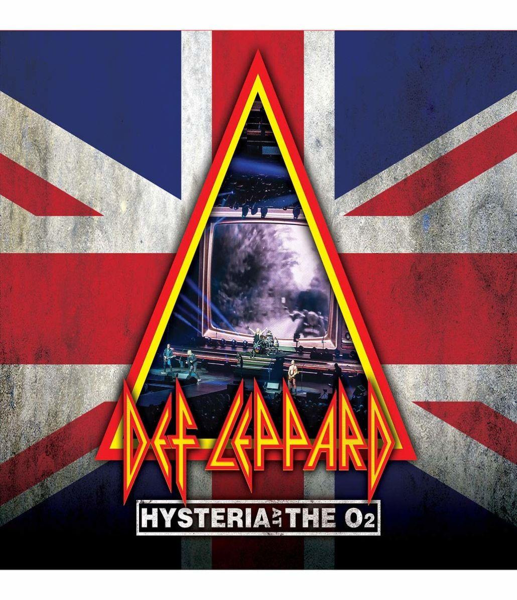 "DEF LEPPARD live mit ""Hysteria"" in der Londoner O2 Arena"