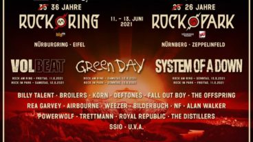Neue Bandwelle für Ring&Park 2021 – Billy Talent, Broilers, Korn, Deftones