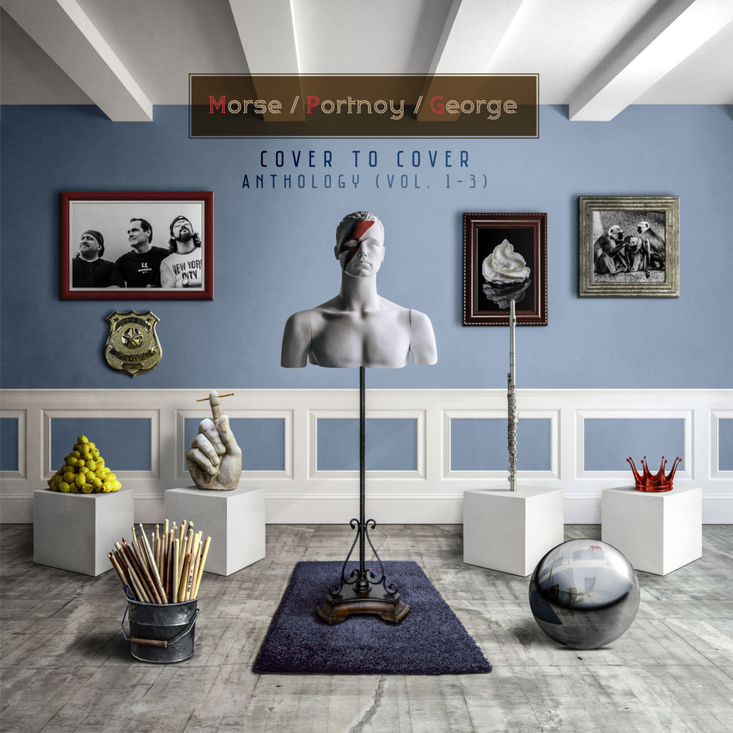 "Morse/Portnoy/George: ""Cover To Cover Anthology"" – Altes im neuen Gewand"