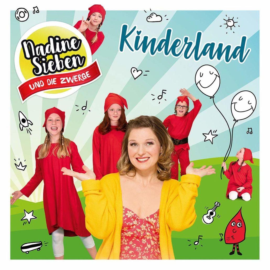 """Nadine Sieben und die Zwerge veröffentlichen Album """"Kinderland"""""""