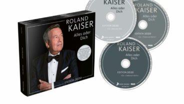 """Roland Kaiser: """"Alles oder dich"""" – erweiterte Albumversion mit Clubkonzert"""