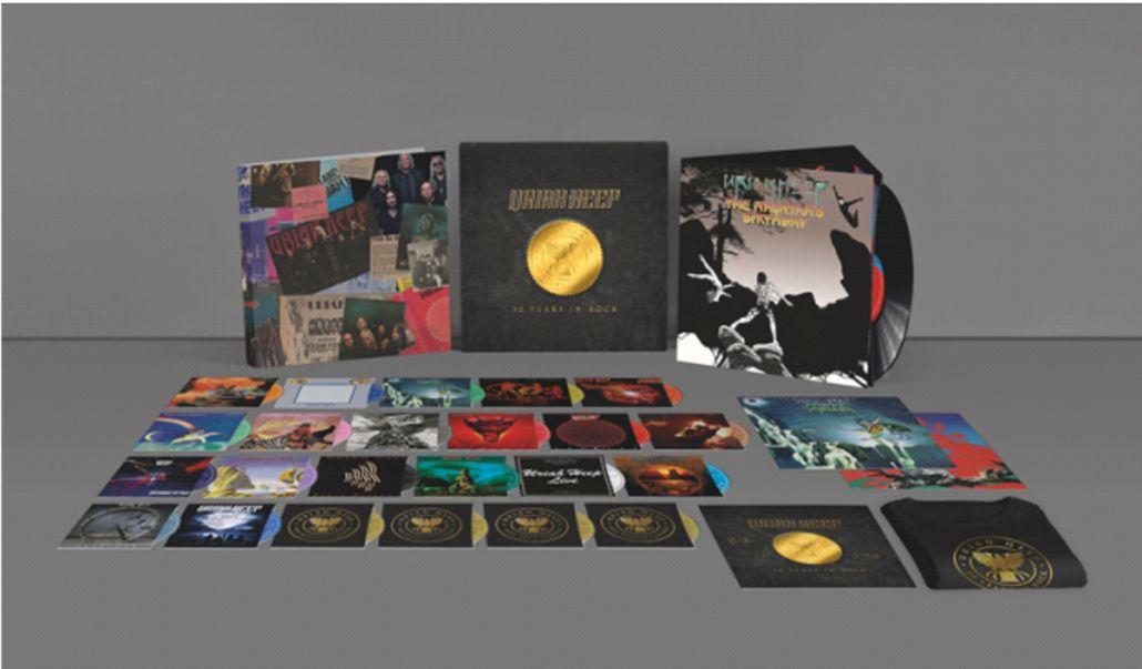 "Uriah Heep: ""50 Years In Rock"" (Super Deluxe Box) erscheint am 30. Oktober"