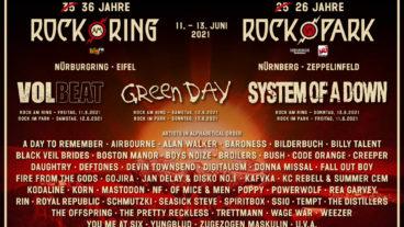 Vorverkaufsstart und neue Bandwelle für Rock am Ring & Rock im Park 2021