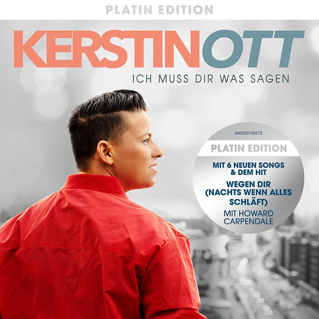 "Kerstin Ott: ""Ich muss dir was sagen"" – Platin Edition"