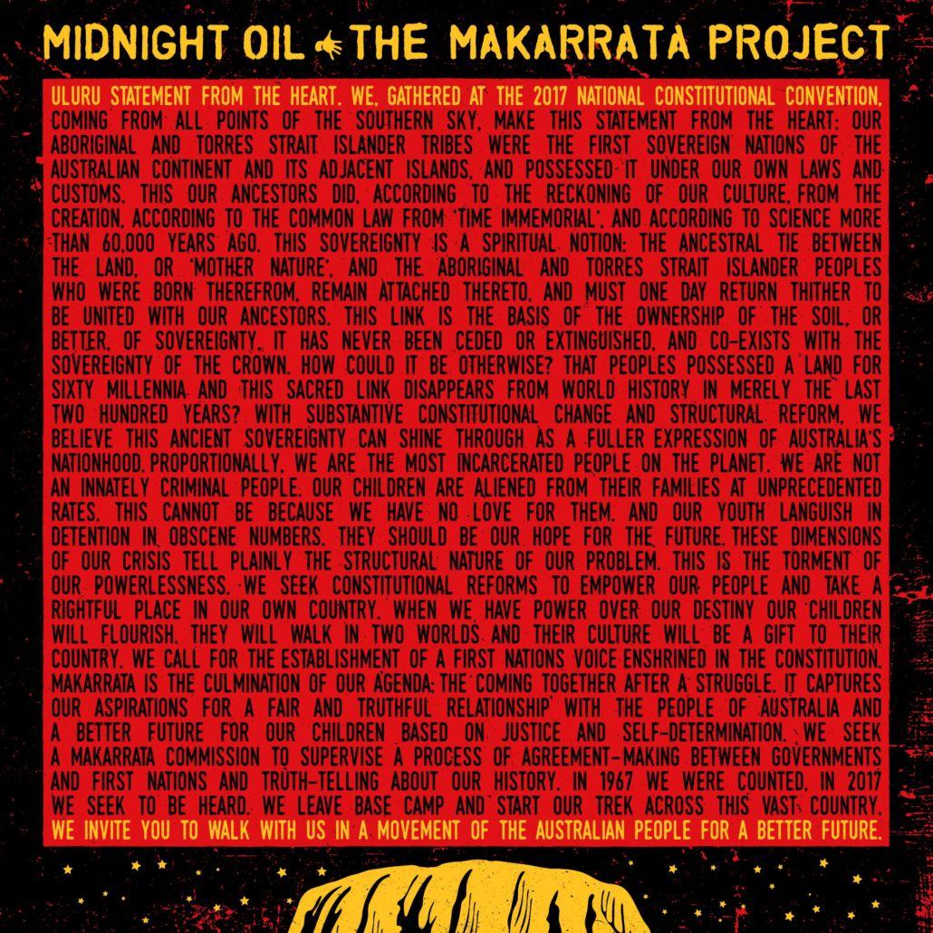 """Midnight Oil: """"Makarrata Project"""" markiert Rückkehr in kreative Phase"""