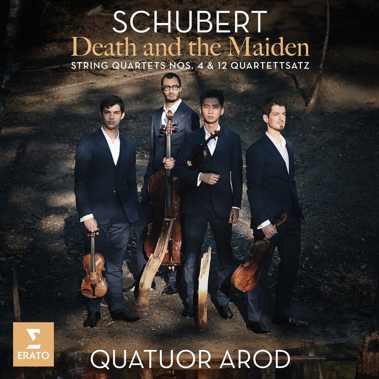 "Quatuor Arud interpretieren Franz Schubert: ""Death and the Maiden"""