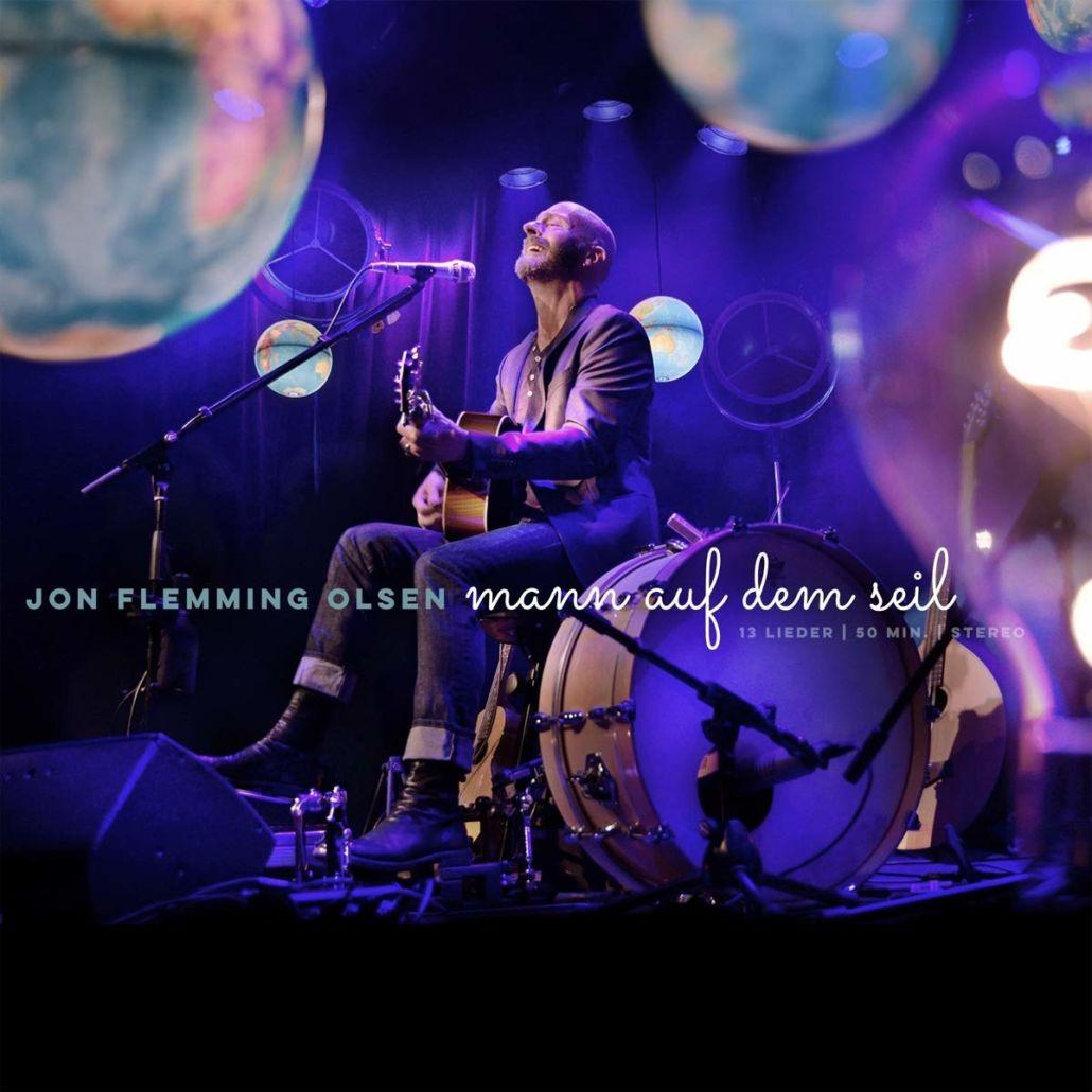 """Jon Flemming Olsen ist der """"Mann auf dem Seil"""""""
