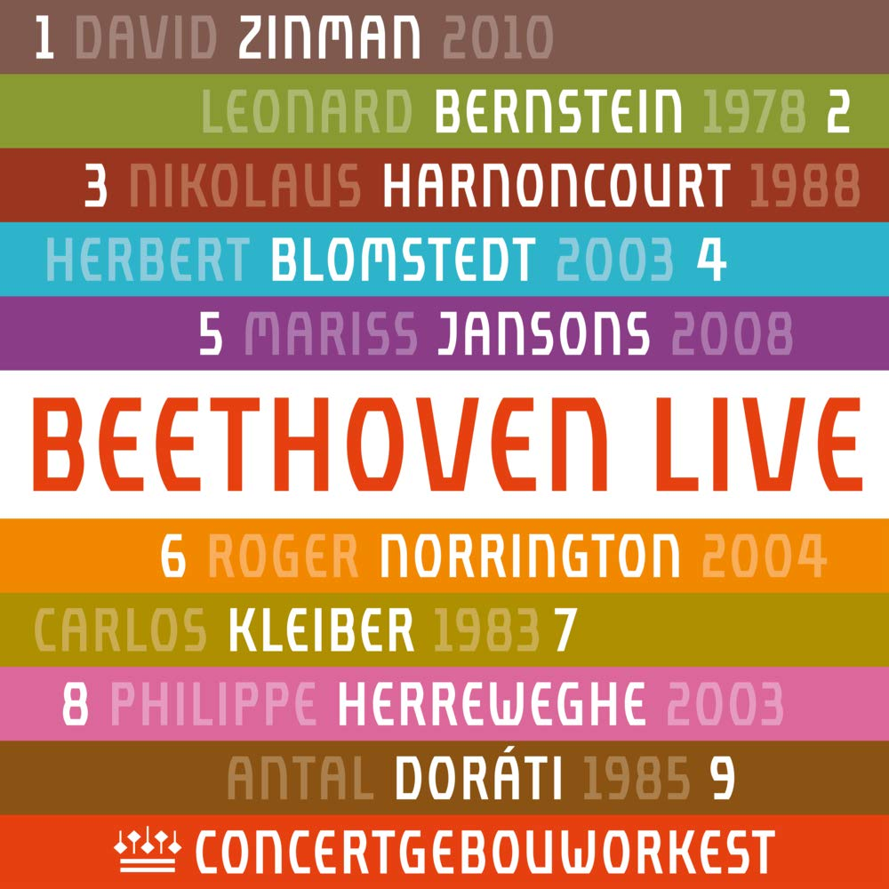 Beethoven: Neun Sinfonien live vom Concertgebouw-Orchester