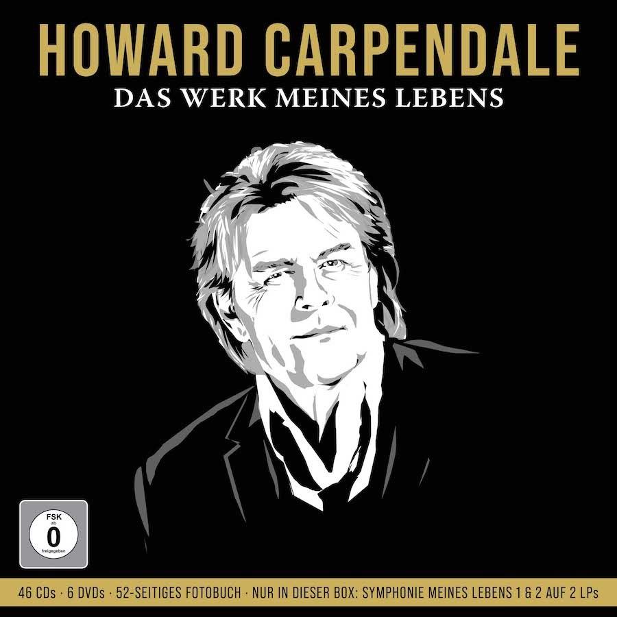 """Howard Carpendale mit ltd. Box-Set """"Das Werk meines Lebens"""""""