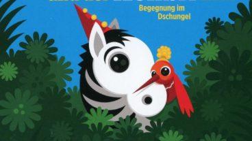 """Musik-CD zur beliebten Buchreihe """"Das Zebra und der Kolibri"""""""