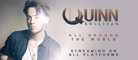 """Quinn Sullivan veröffentlicht ersten Song """"All Around the World"""""""