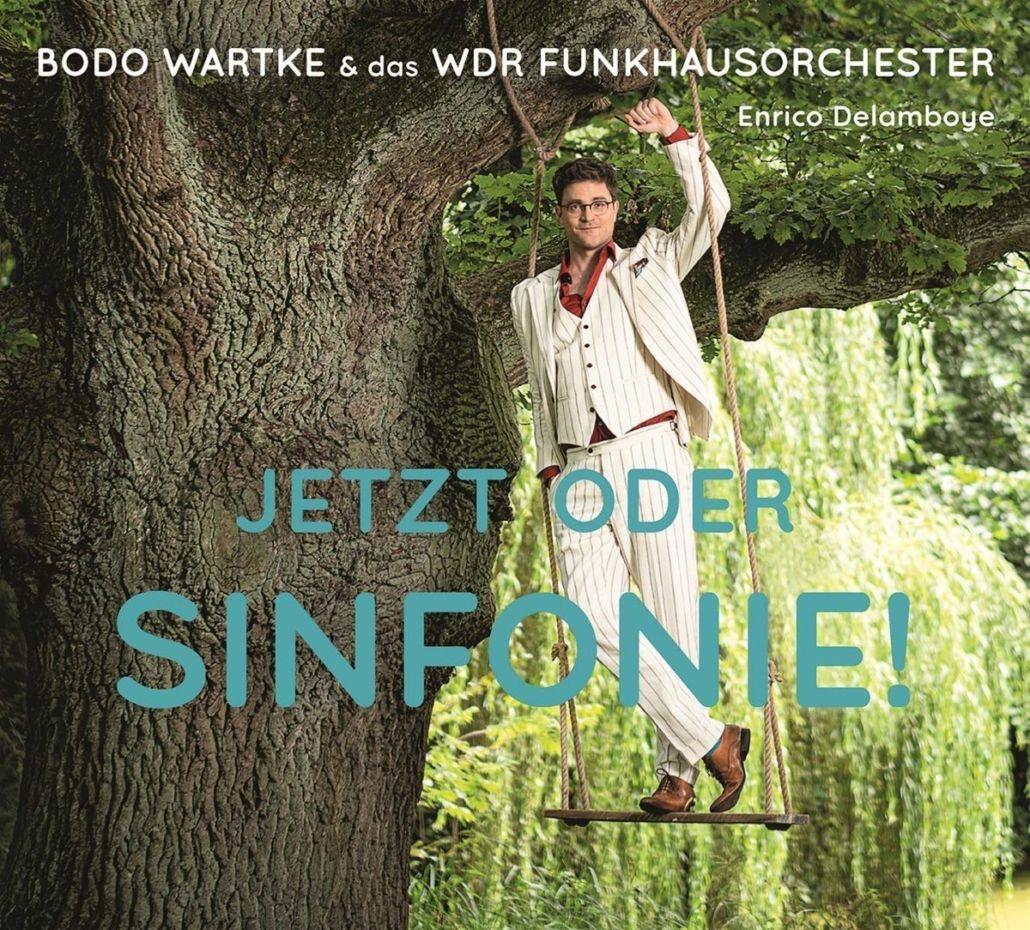 Bodo Wartke & das WDR Funkhausorchester: Jetzt oder Sinfonie!