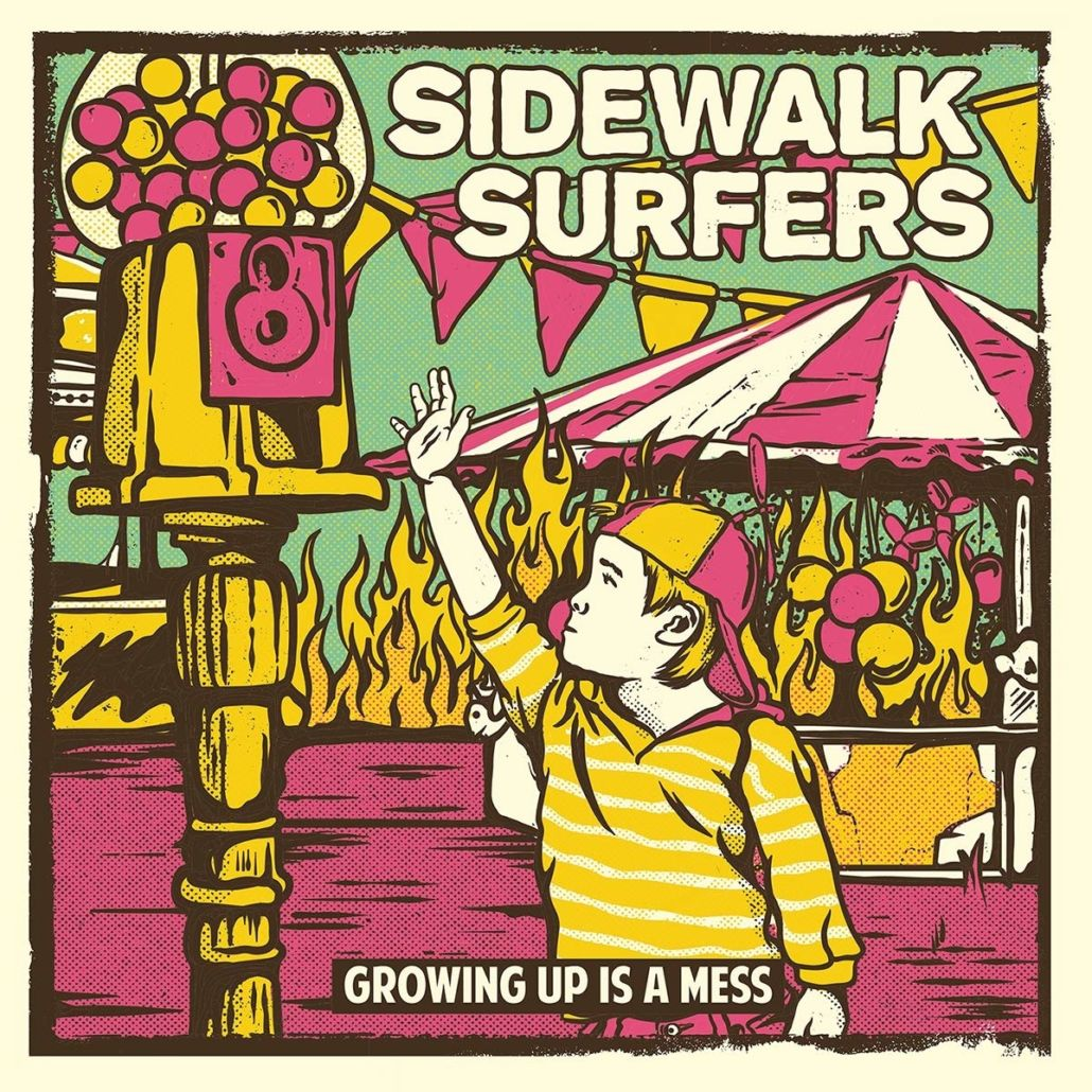 "Sidewalk Surfers: ""Growing Up Is A Mess"", das perfekte Coming of Age Album"