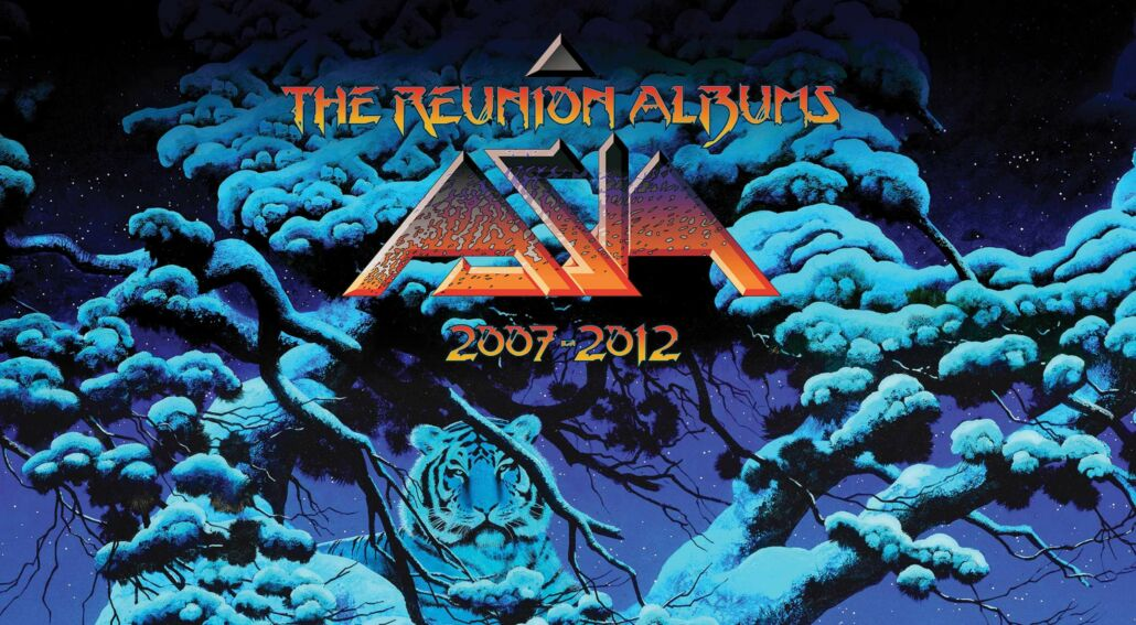 "Asia mit neuem 5CD-Set ""The Reunion Albums 2007-2012"""