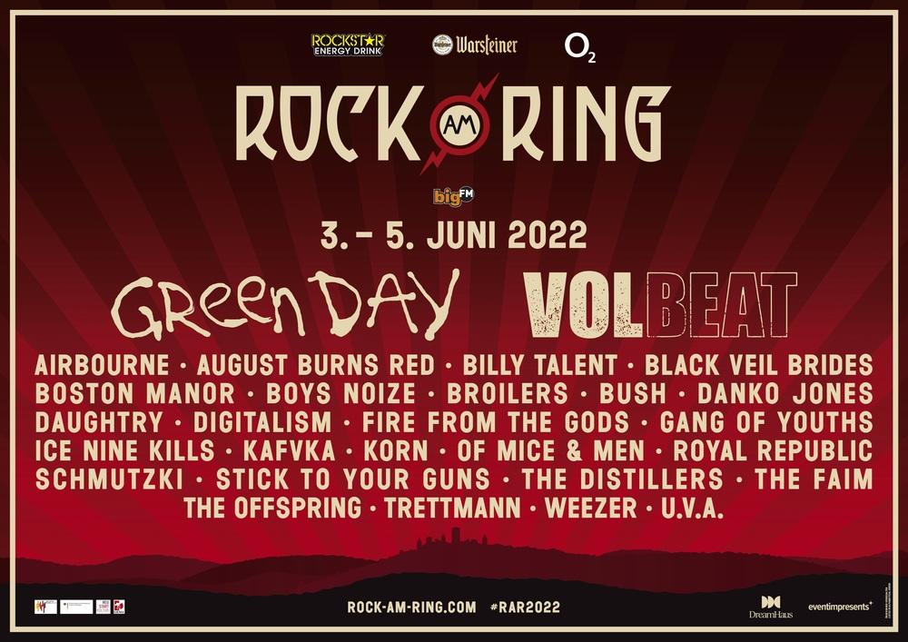 Rock am Ring – erste Bands bestätigt – VVK startet