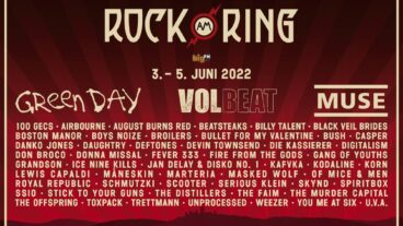 ROCK AM RING: Dritter Mainstage Headliner sind MUSE