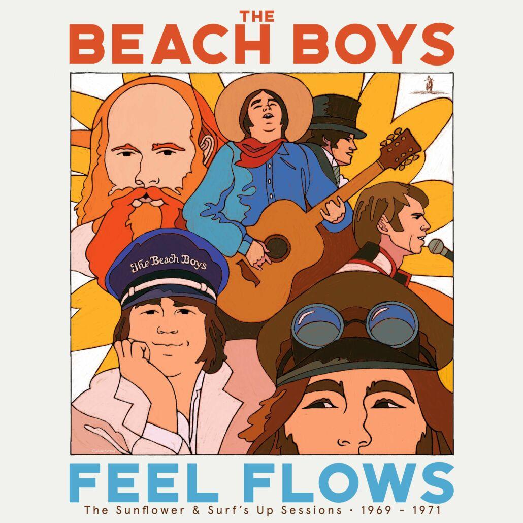 """Von den Beach Boys erscheint am 27.8. """"Feel Flows"""" – die Ära 1969 bis 1971"""