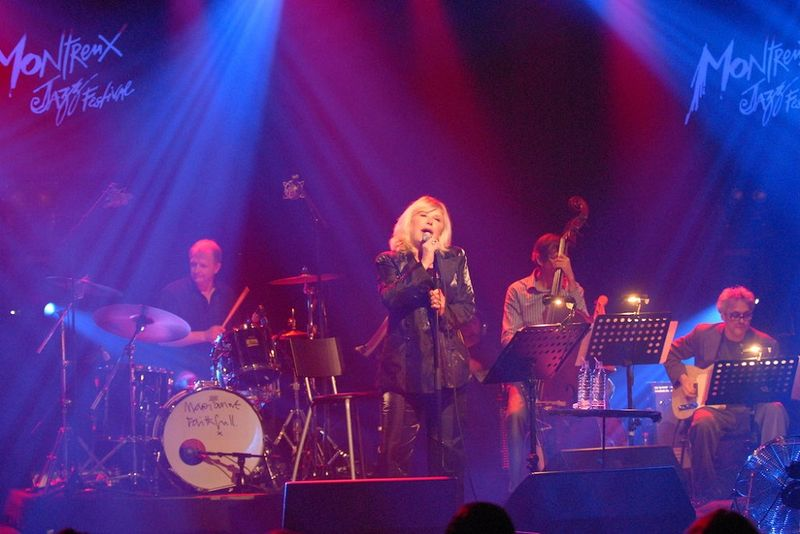 """The Montreux Years"" mit Marianne Faithfull und Muddy Waters"