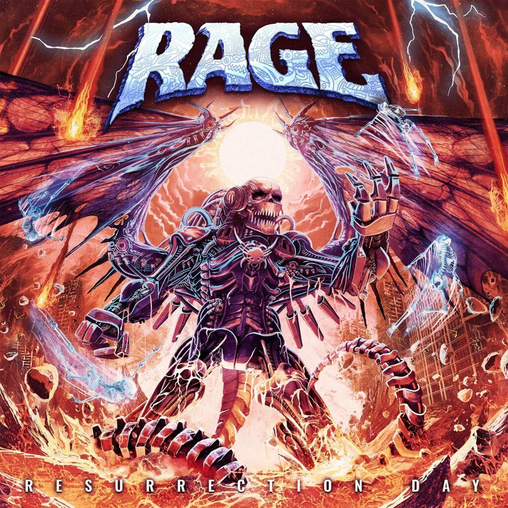 """Rage: """"Resurrection Day"""" – Power Metal aus Herne"""