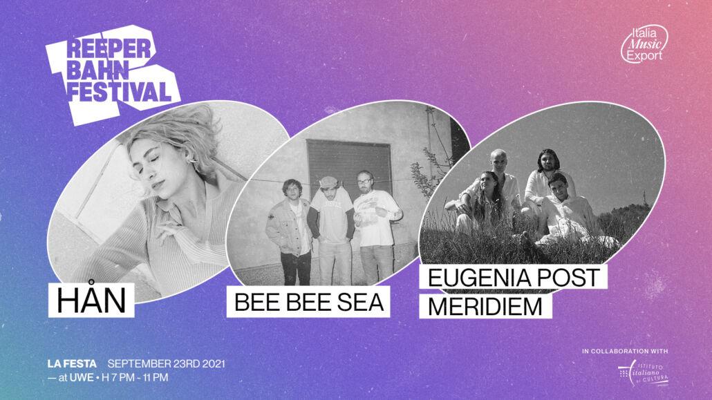 La Festa: Italien beim Reeperbahn Festival 2021