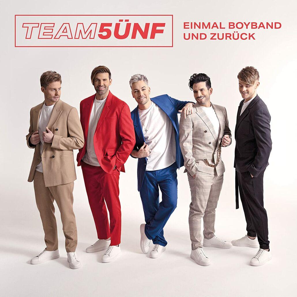 Team 5ünf: Boygroup-Schlager mit Jay Khan und Marc Terenzi